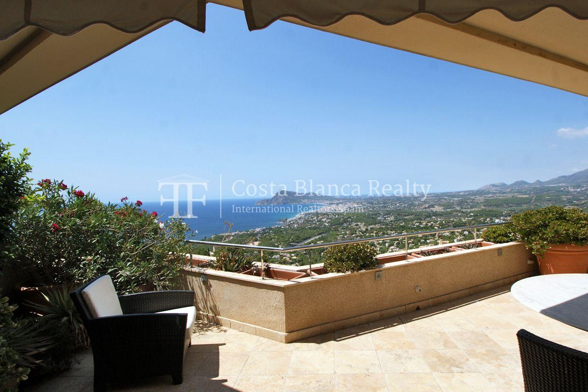Duplex Penthouse Apartment for sale with great sea views in Altea, Villa Marina Golf - 7 - CHFi653