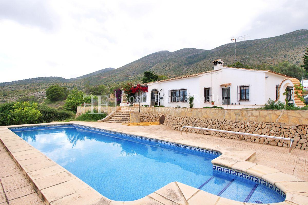 Wonderful finca with great panoramic sea views in Benissa - 1 - CHFi865