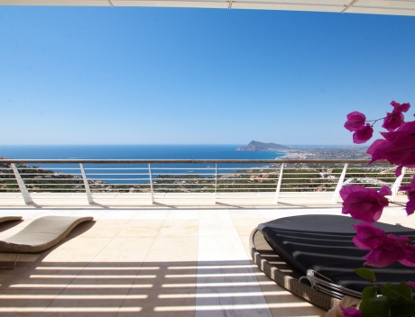 CHFi829: Luxury apartment with sea views for sale Altea Hills - Main