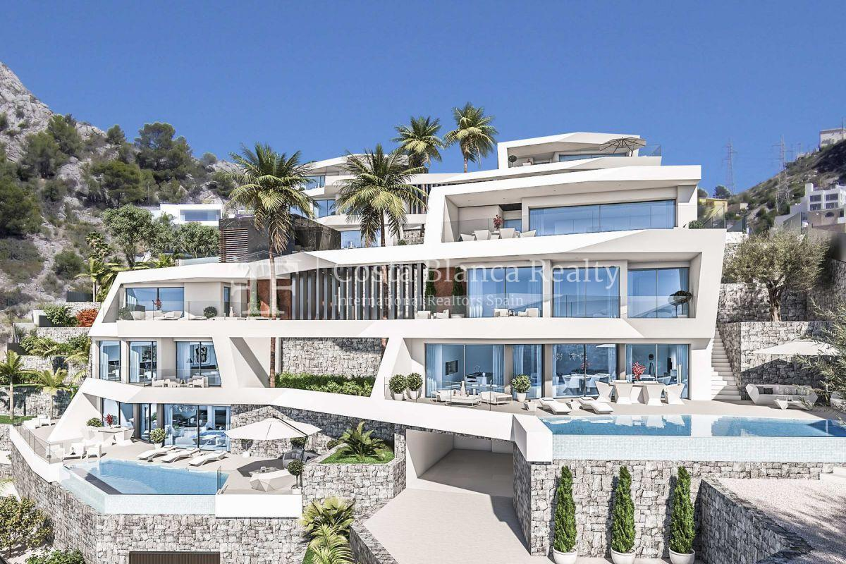 Modern villa for sale with stunning sea views in Altea - 7 - CHFi842