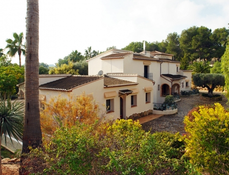 MORA390: Exclusive finca property near the center of Moraira, Sabatera - Main