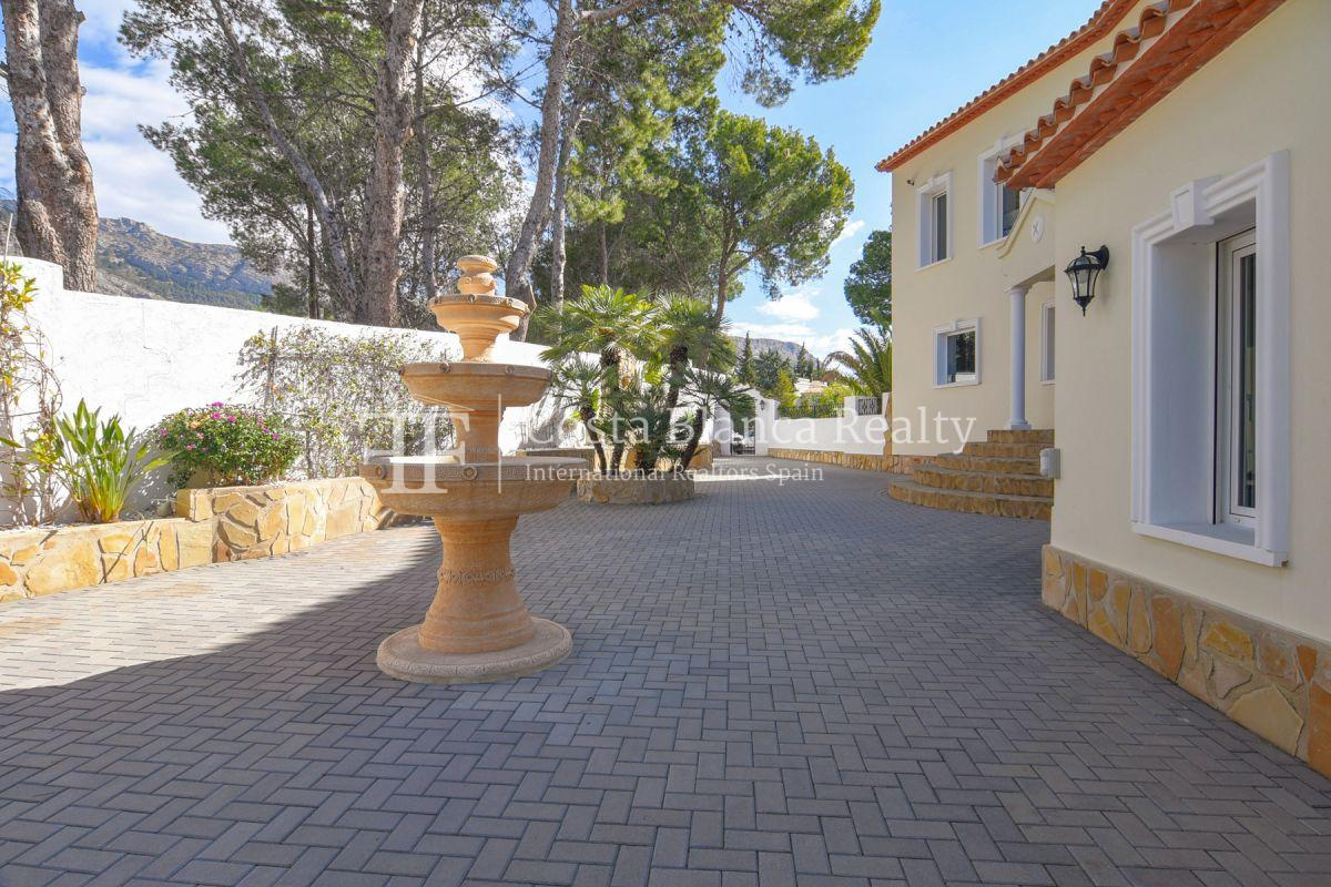 Fantastic villa with panoramic sea views in Altea - 31 - CHFi798