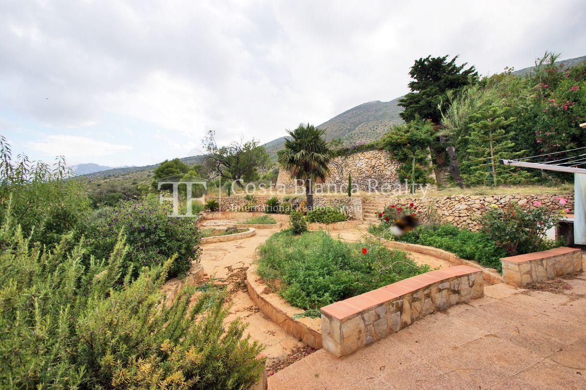 Wonderful finca with great panoramic sea views in Benissa - 6 - CHFi865