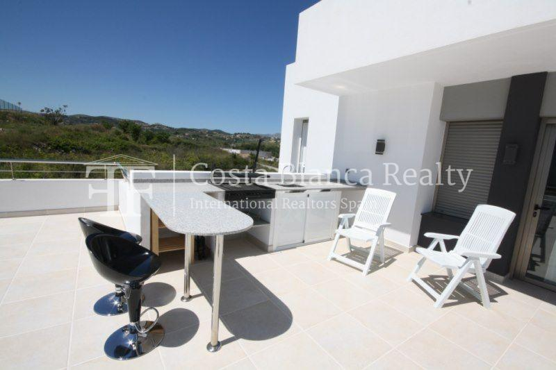 Modern Villa built in 2013 with Seaviews in Solpark, Moraira, Spain - 12 - CHFi458