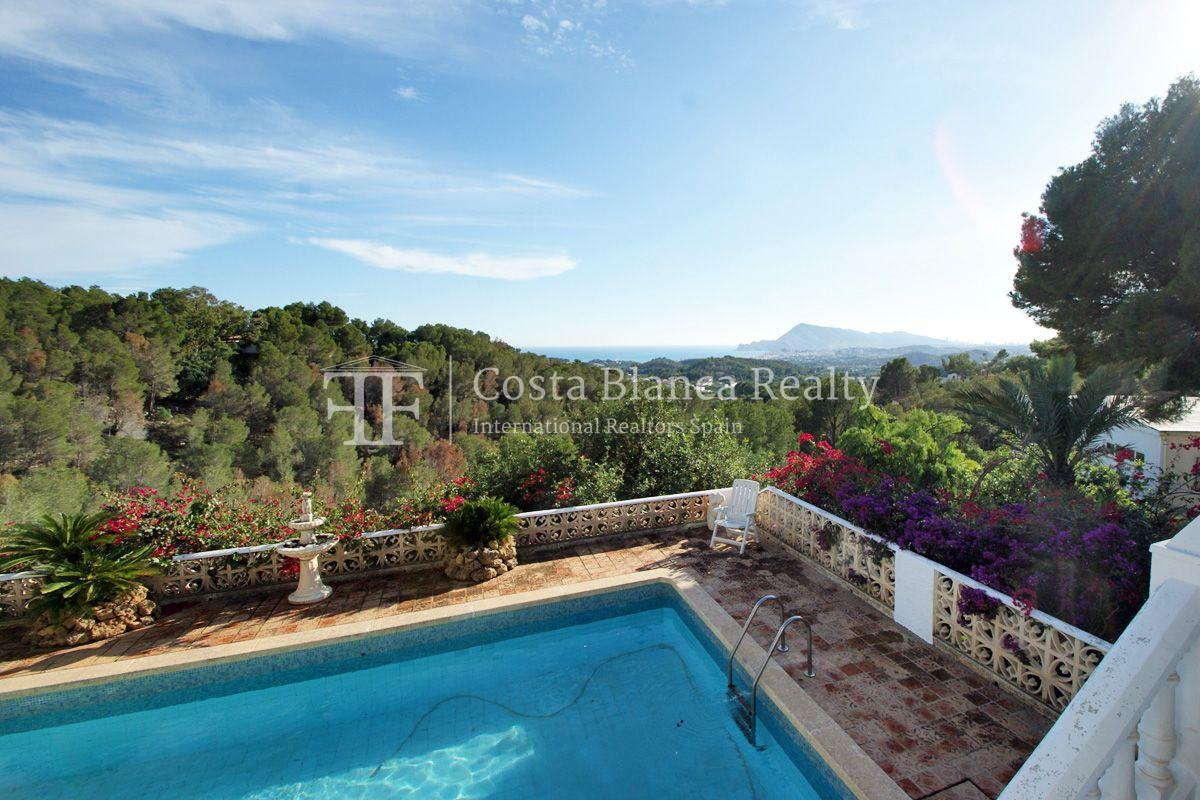 Large house with great sea views and 5000m2 of land, Altea, Alhama Springs - 5 - CHFi509