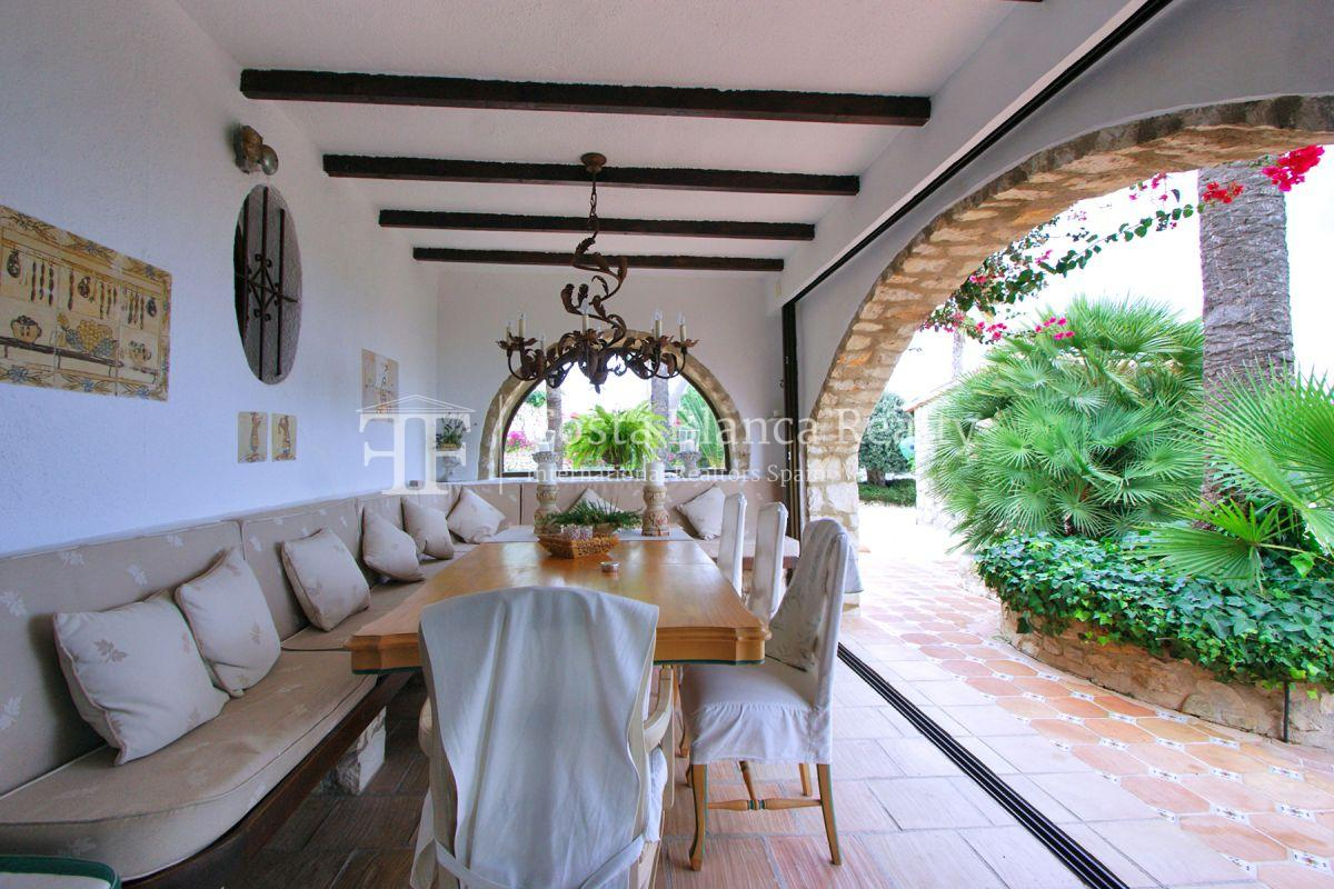 Great modern finca with panoramic sea views in Benissa - 16 - CHFi501
