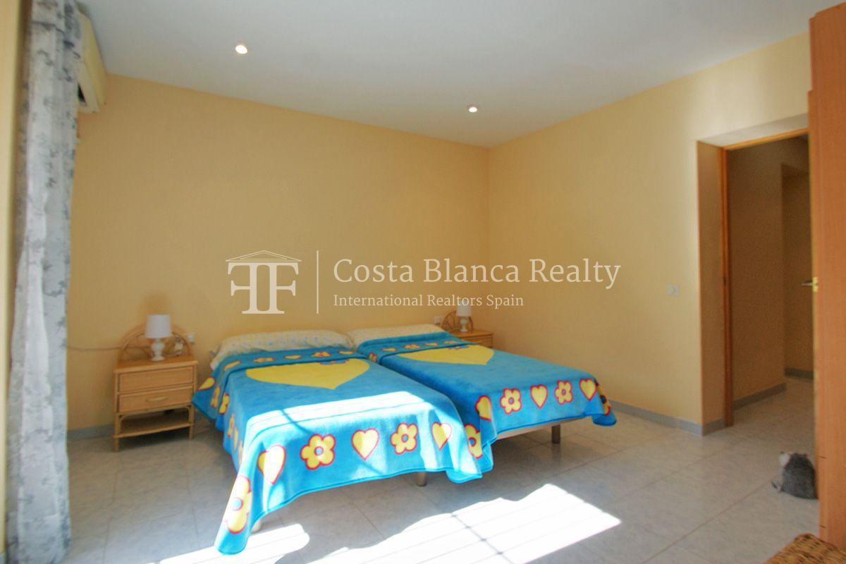 Large house in very good condition with partial sea view for sale in Bello Horizonte, La Nucia - 21 - FPAS104