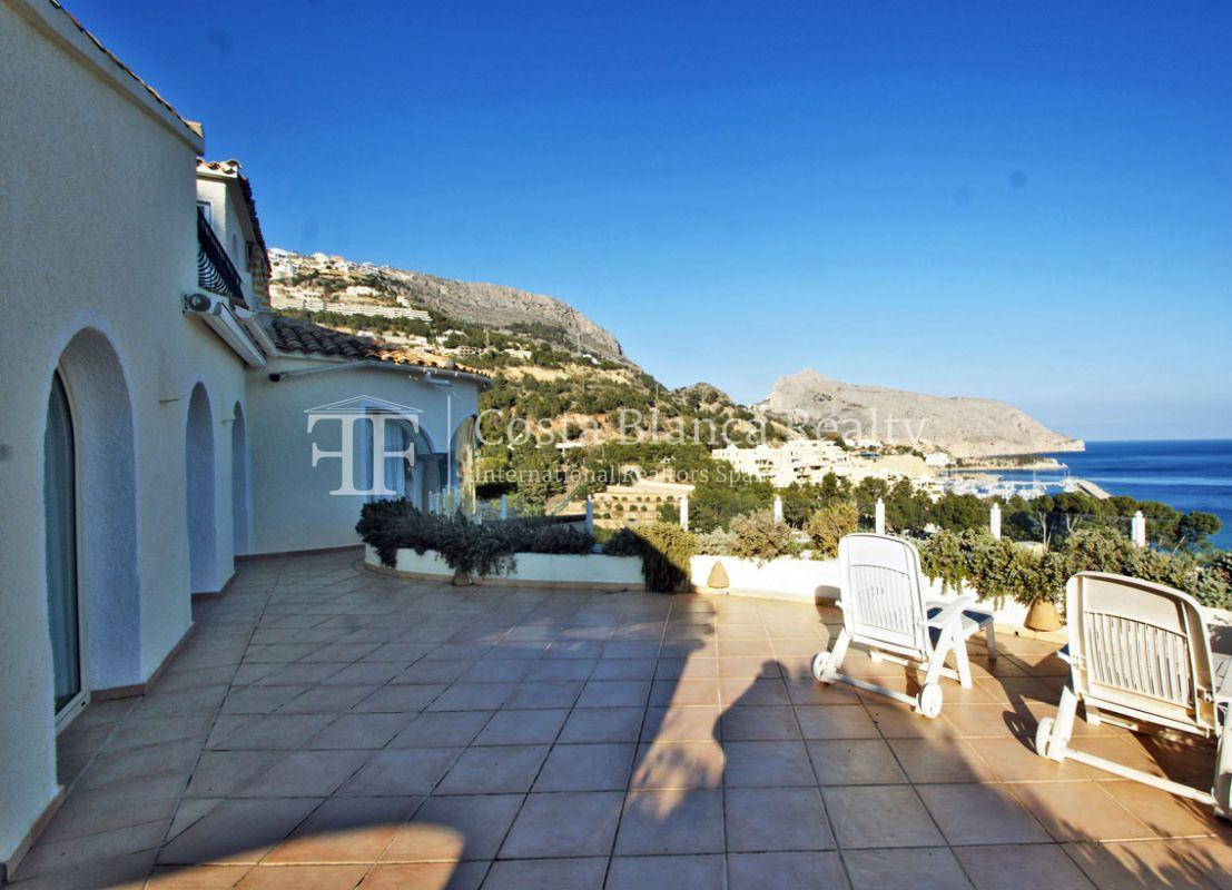 Great house with panoramic sea views for sale, Altea, Mascarat - 3 -  CHFi488