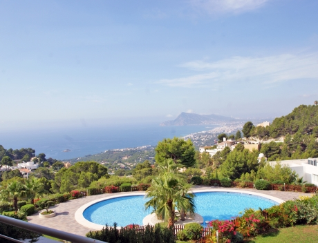 CHFi866: Nice modern apartment with great panoramic sea views Altea - Main