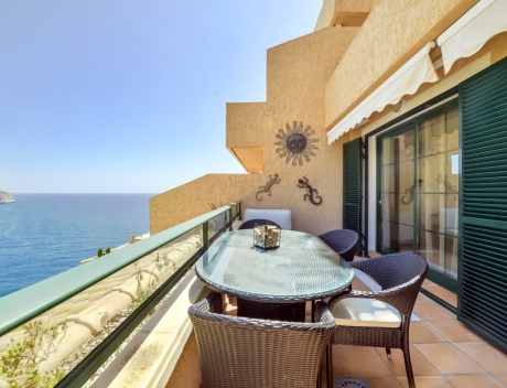 ASOL103: Beautiful modern 3 bedroom first line apartment with great sea views in Altea, Mascarat - Main