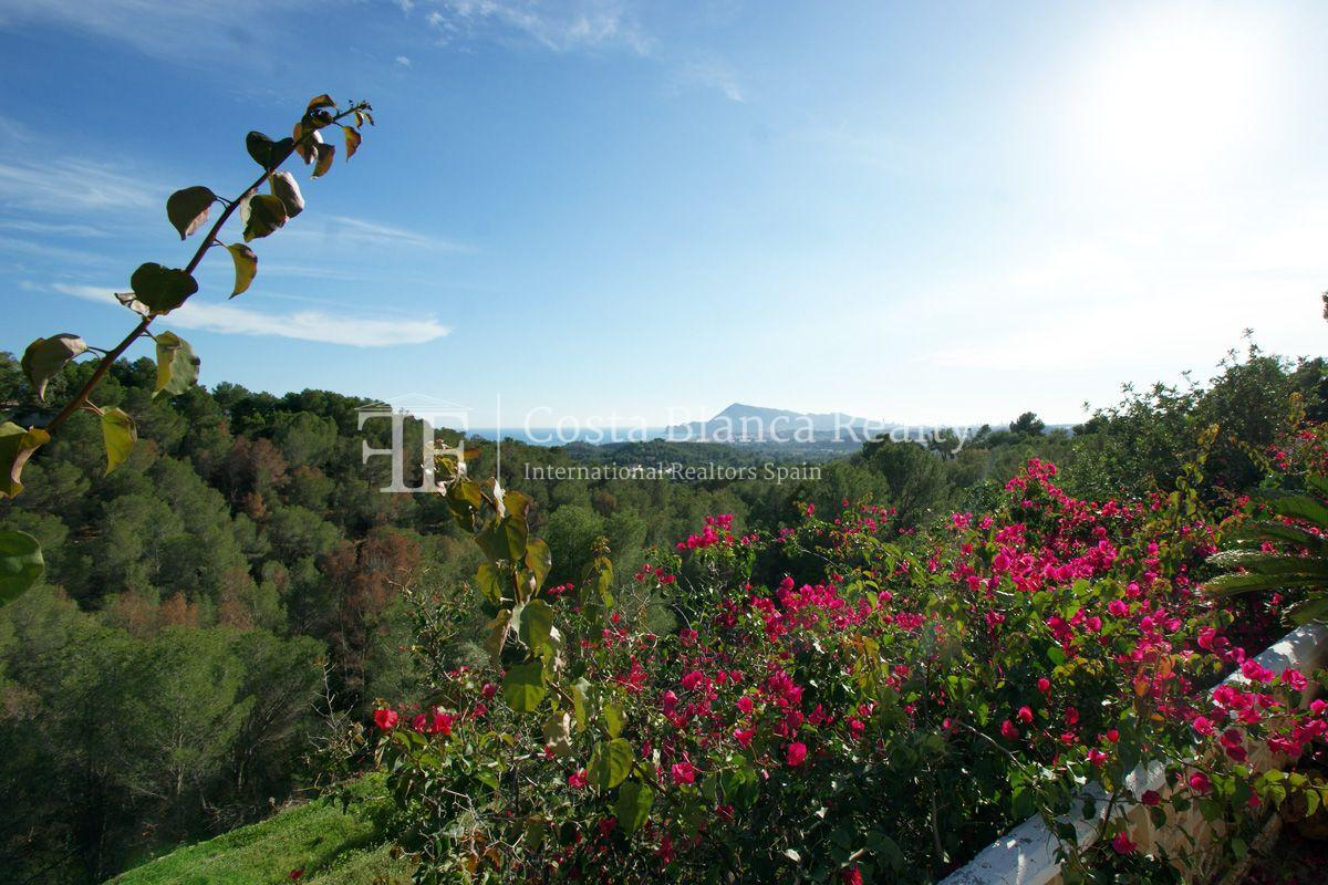 Large house with great sea views and 5000m2 of land, Altea, Alhama Springs - 11 - CHFi509
