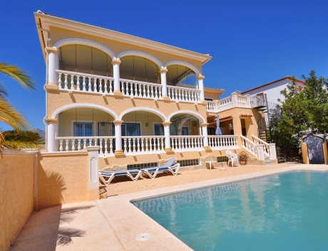 CHFi825: Great villa with panoramic sea views in La Nucia for sale - Main