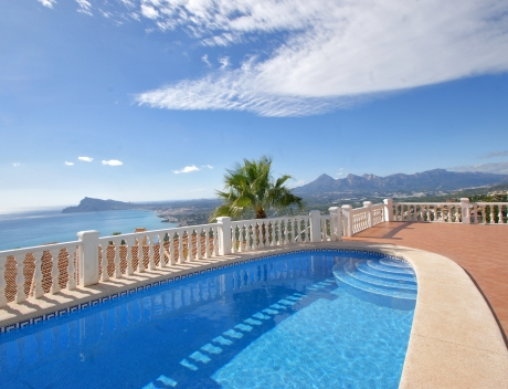 CHFi757: Luxury Villa for sale in Altea Hills with panoramic Sea views  - Main