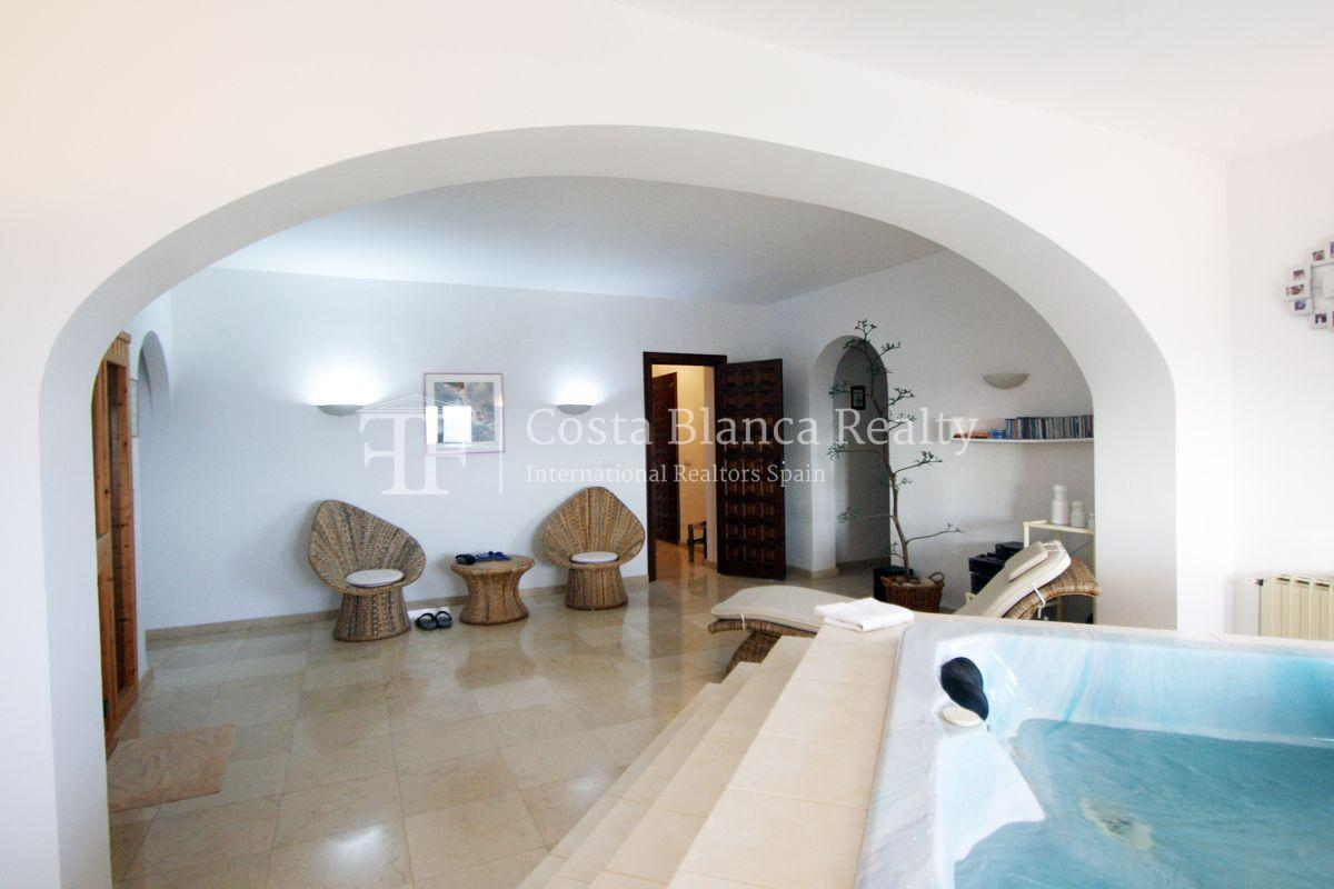 Villa for sale in Benissa with panoramic sea views on a large plot - 13 - CHFi655