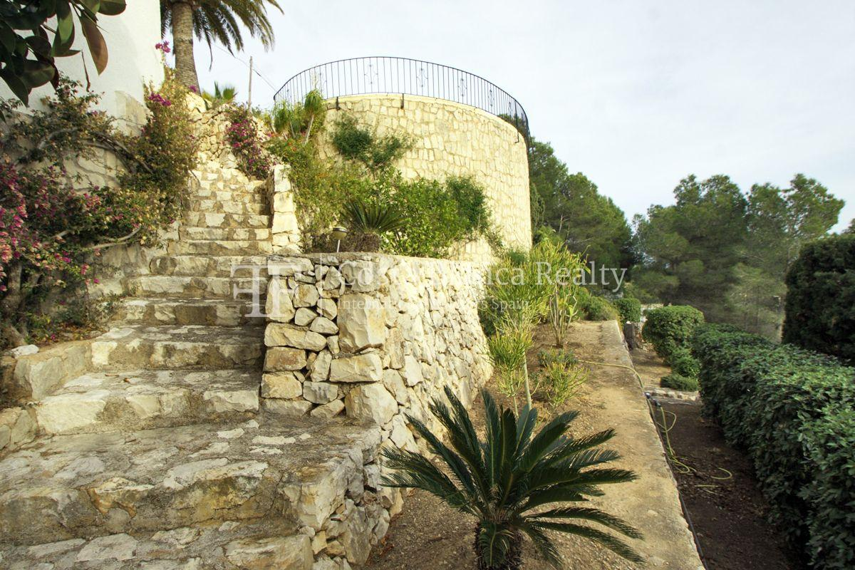 Villa for sale in Benissa with panoramic sea views on a large plot - 38 - CHFi655