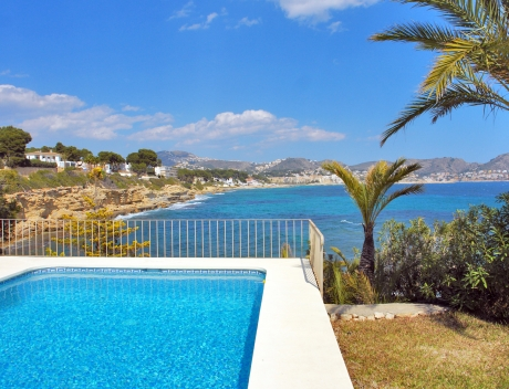 CHFi780: House for sale at first line in Moraira - Main