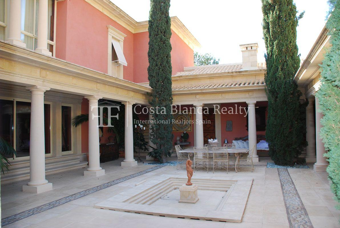 Beautiful villa in Roman style in Altea for sale, Sierra de Altea Golf - 31 - JOFi234