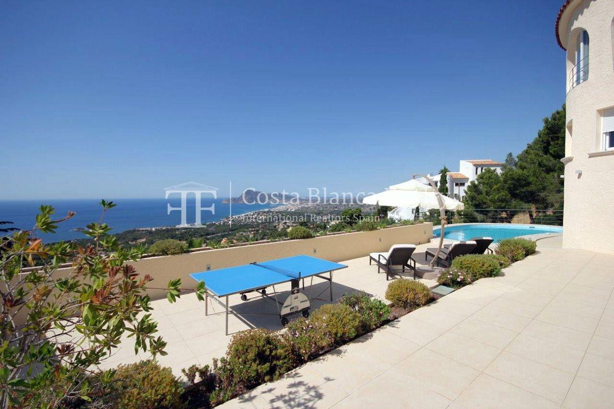 Beautifully renovated house / villa with sea views in Altea for sale, Sierra de Altea - 2 - FPAS105