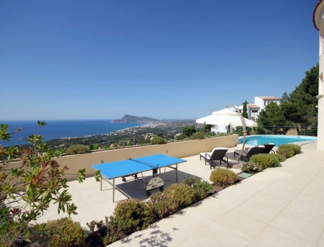 FPAS105: Beautifully renovated house / villa with sea views in Altea for sale, Sierra de Altea - Main