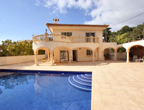 CHFi795: Charming renovated modern villa for sale in Benissa - Main