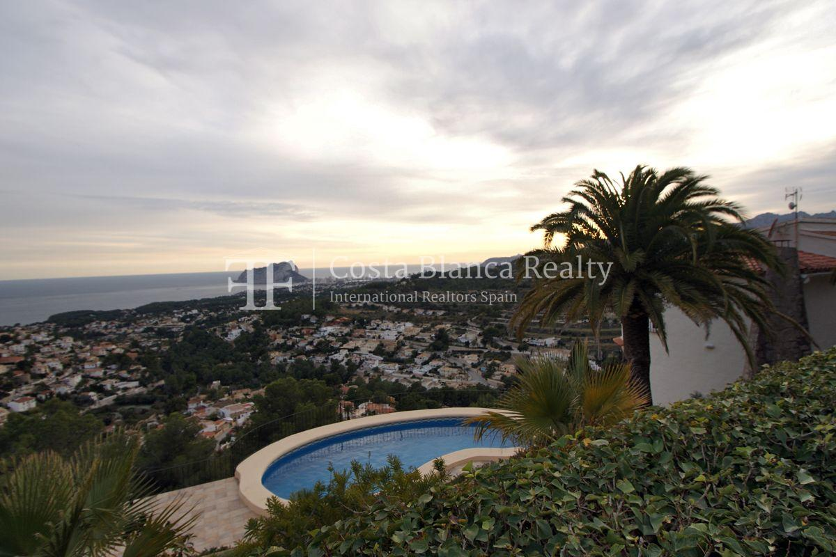Villa for sale in Benissa with panoramic sea views on a large plot - 41 - CHFi655