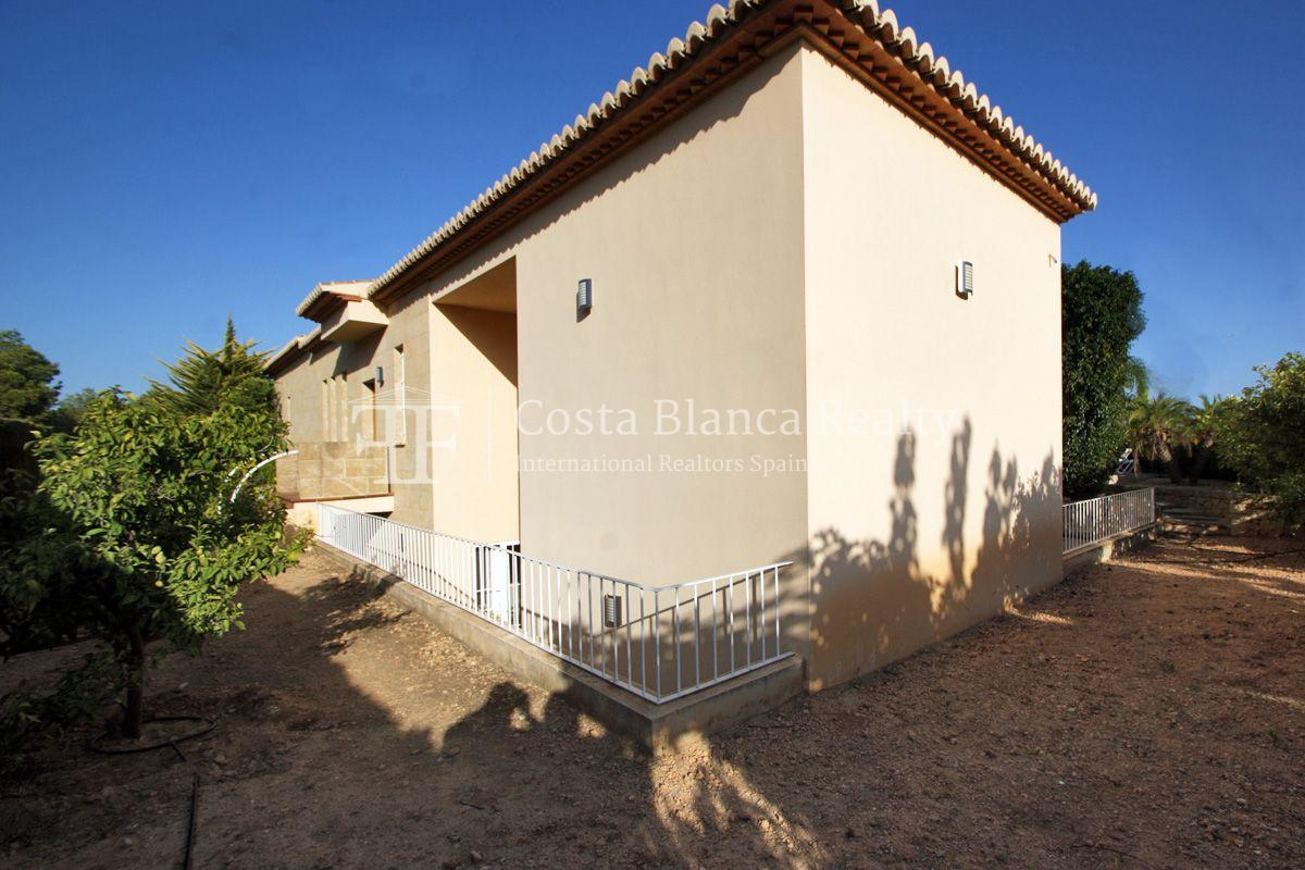 Very nice one level property with unobstructable sea view in Calpe - 42 - CHFi543
