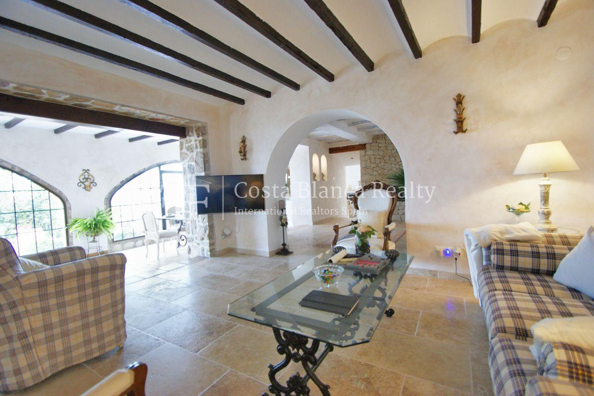 Great modern finca with panoramic sea views in Benissa - 12 - CHFi501