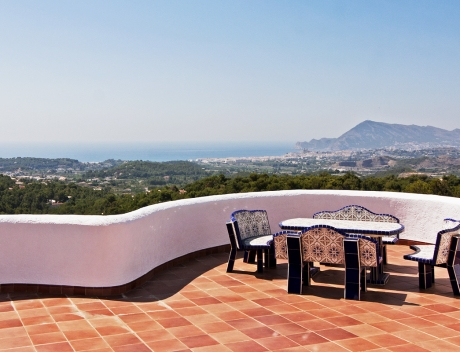 Super house with lots of privacy and great sea views, Altea, El Paradiso