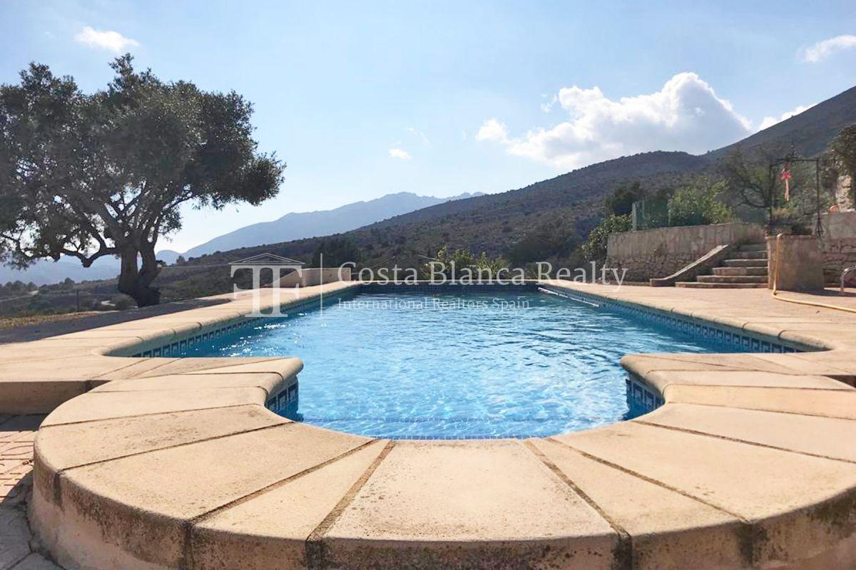 Wonderful finca with great panoramic sea views in Benissa - 15 - CHFi865