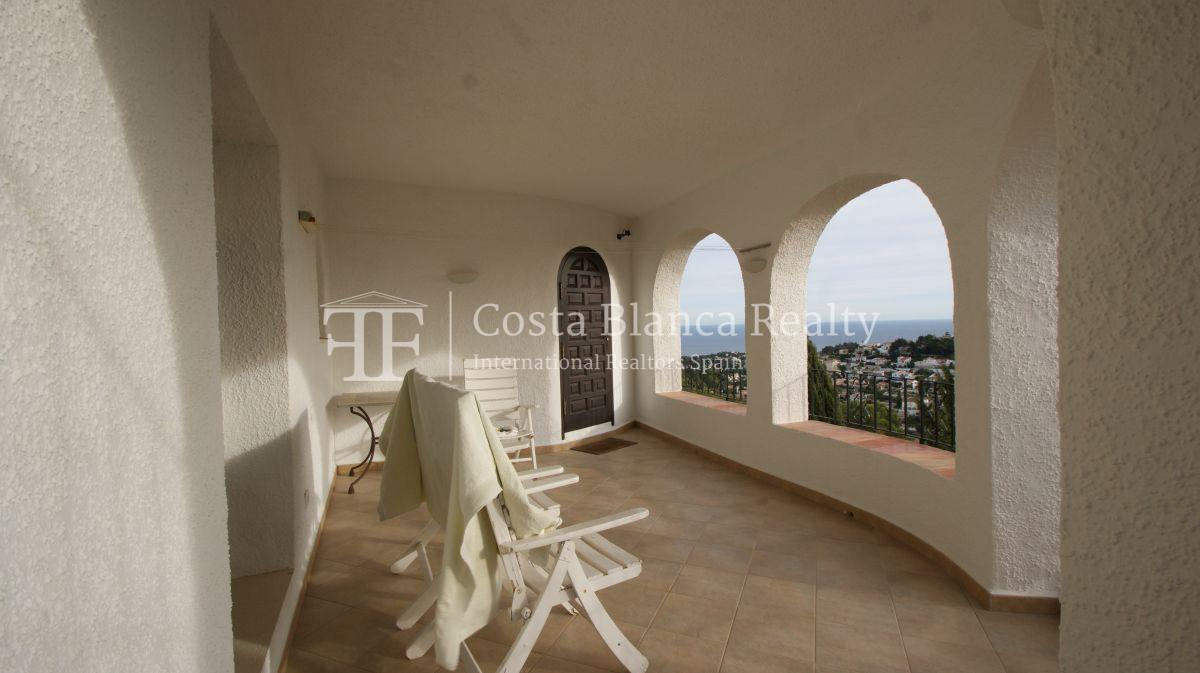 Villa for sale in Benissa with panoramic sea views on a large plot - 28 - CHFi655