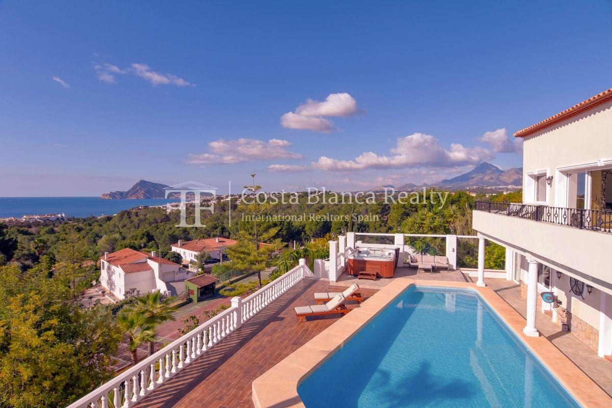 Fantastic villa with panoramic sea views in Altea - 2 - CHFi798