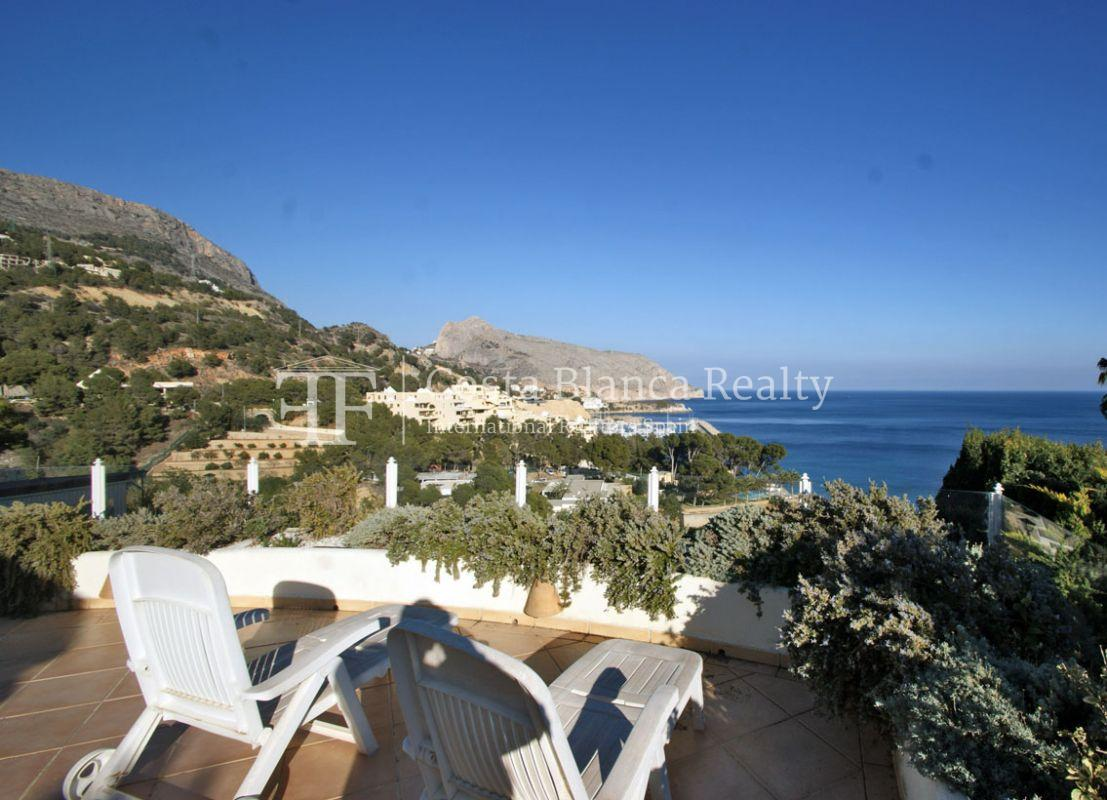 Great house with panoramic sea views for sale, Altea, Mascarat - 4 -  CHFi488