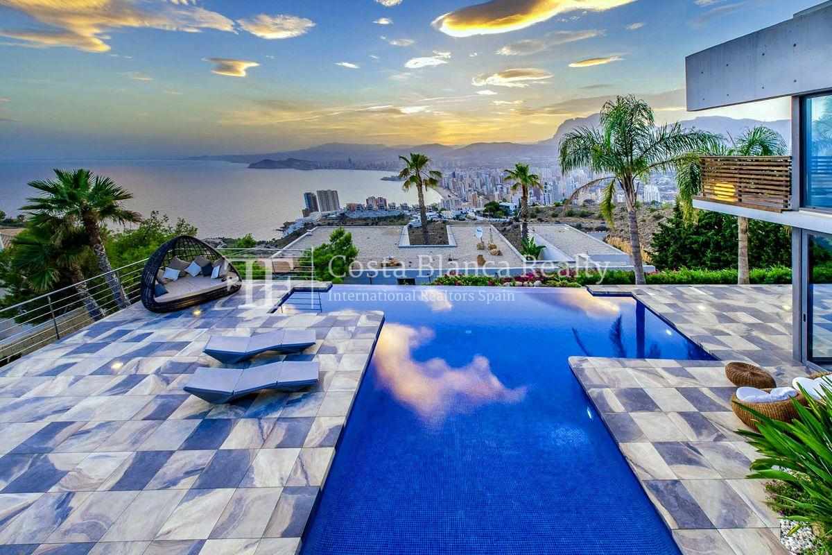 Modern designer villa with panoramic sea views, Benidorm - 1 - CHFi162
