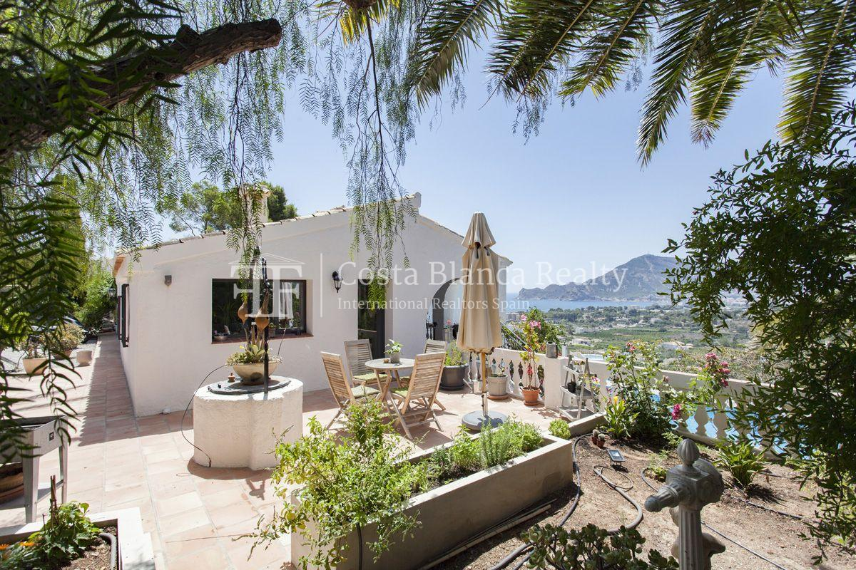 ++SOLD BY COSTABLANCA-REALTY.COM++ Villa for sale in San Chuchim in Ibiza style with panoramic sea views, Altea / Old Town - 47 - CHFi704