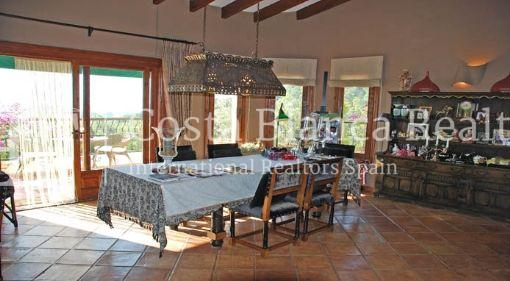 Cozy house with panoramic views of the sea, Sierra de Altea Golf - 7 - JOFi150