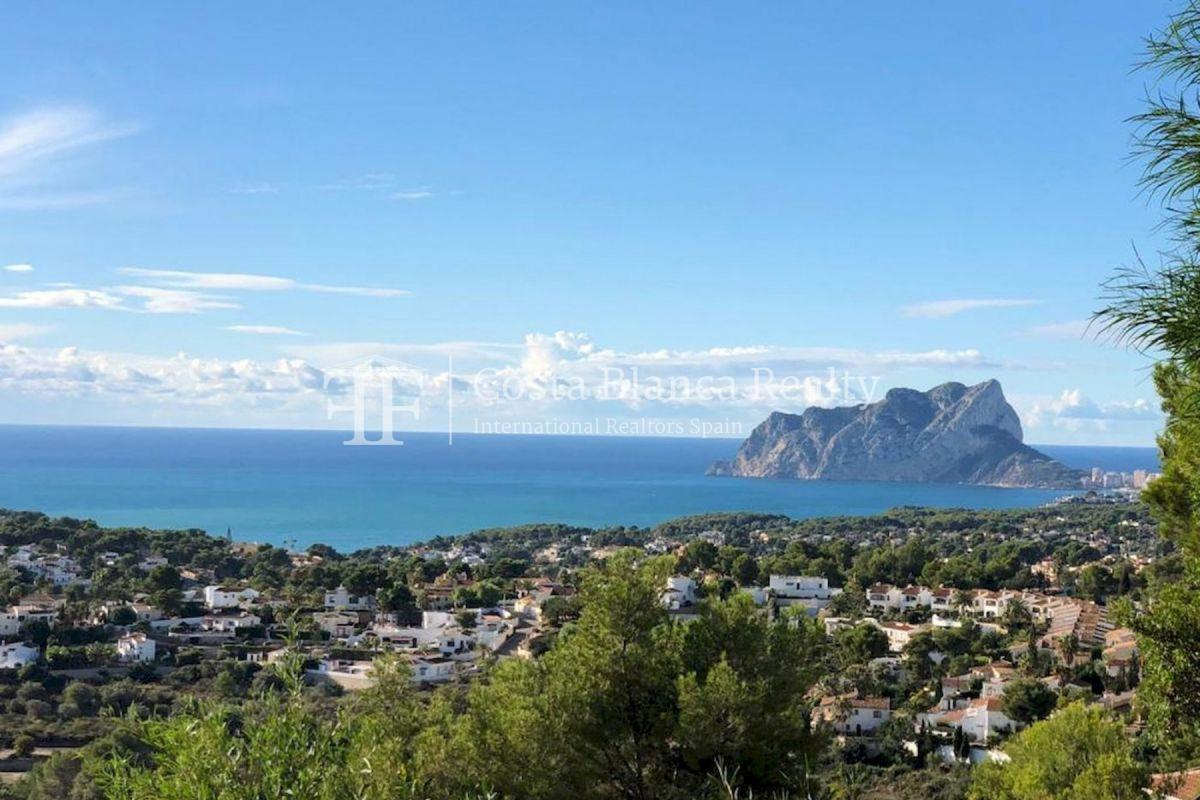 New build villa with panoramic sea views for sale in Moraira - 3 - CHFi782