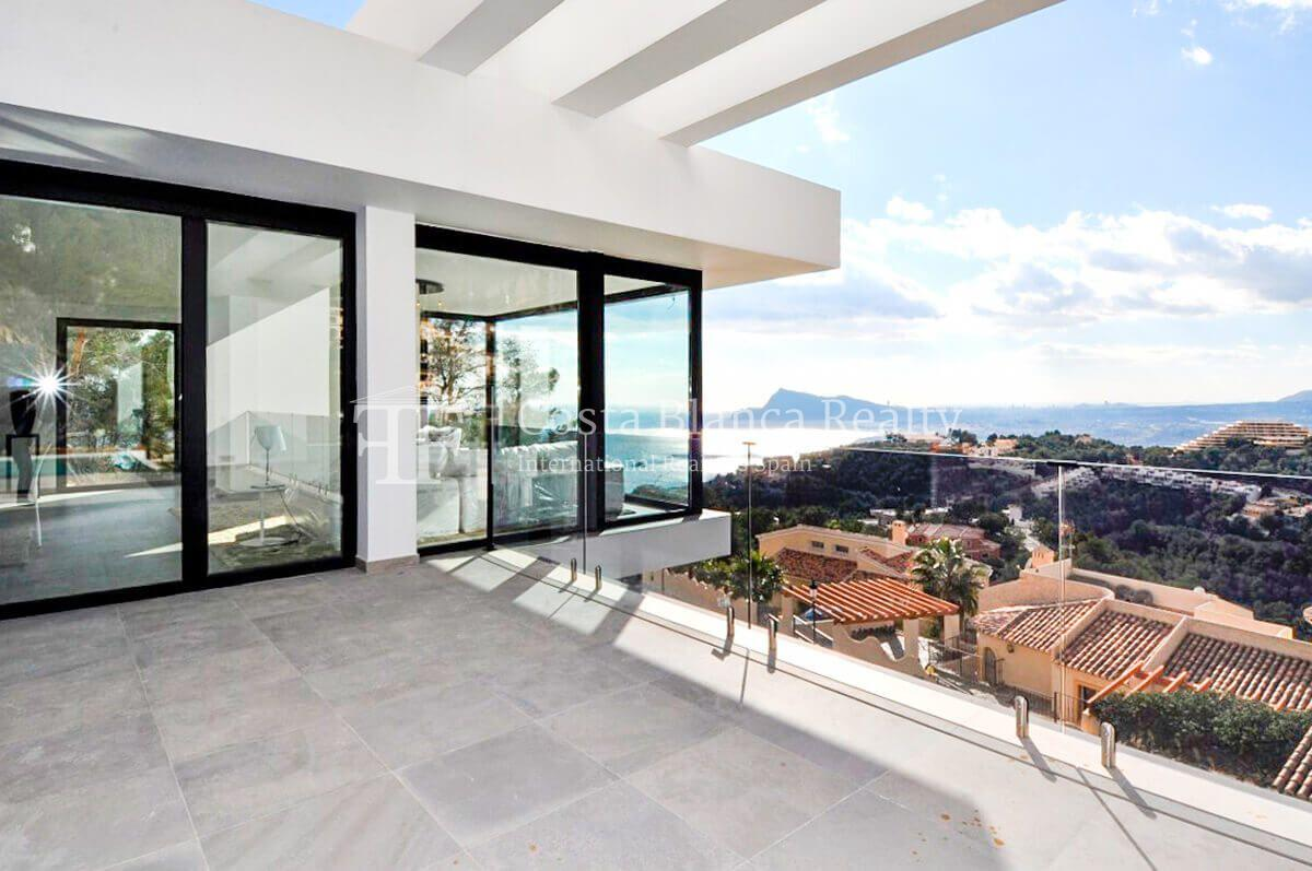 New luxury villa with exceptional sea view, Altea Hills - 22 - CHFi472