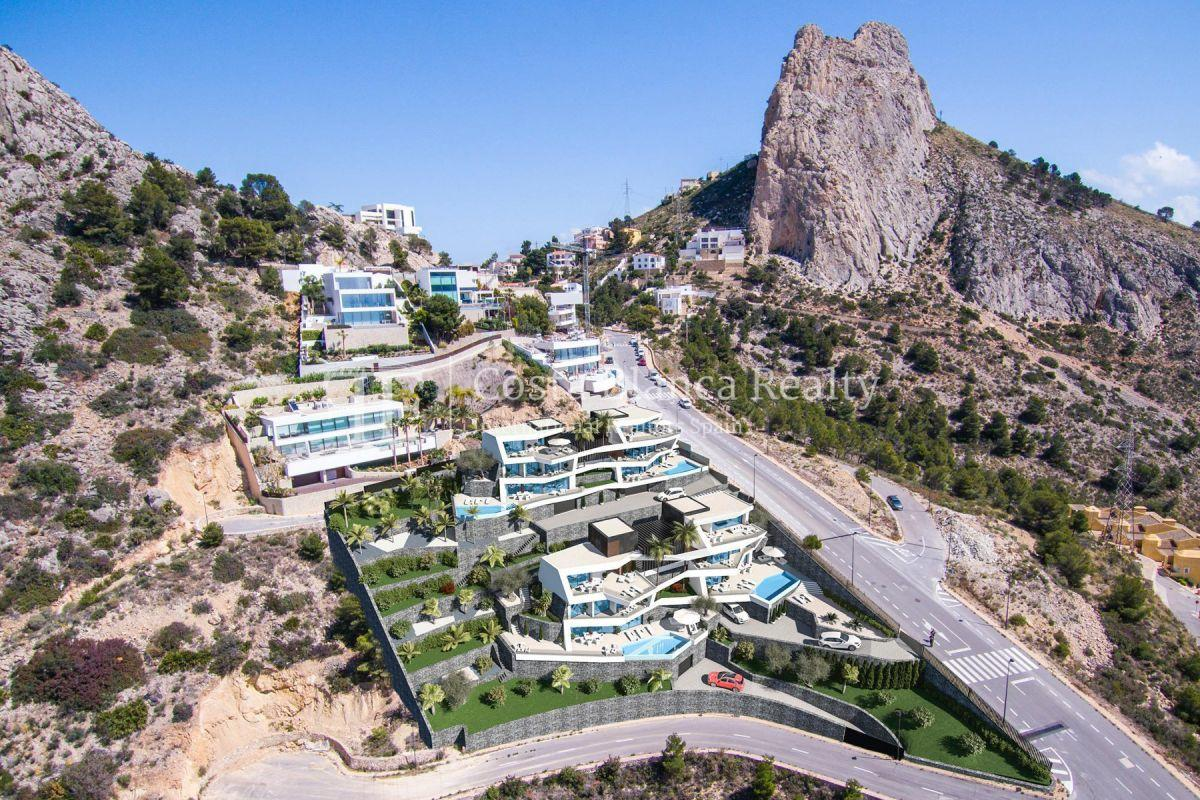 Modern villa for sale with stunning sea views in Altea - 2 - CHFi842
