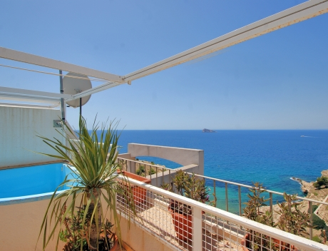 CHFi799: Duplex penthouse at first line in Benidorm - Main