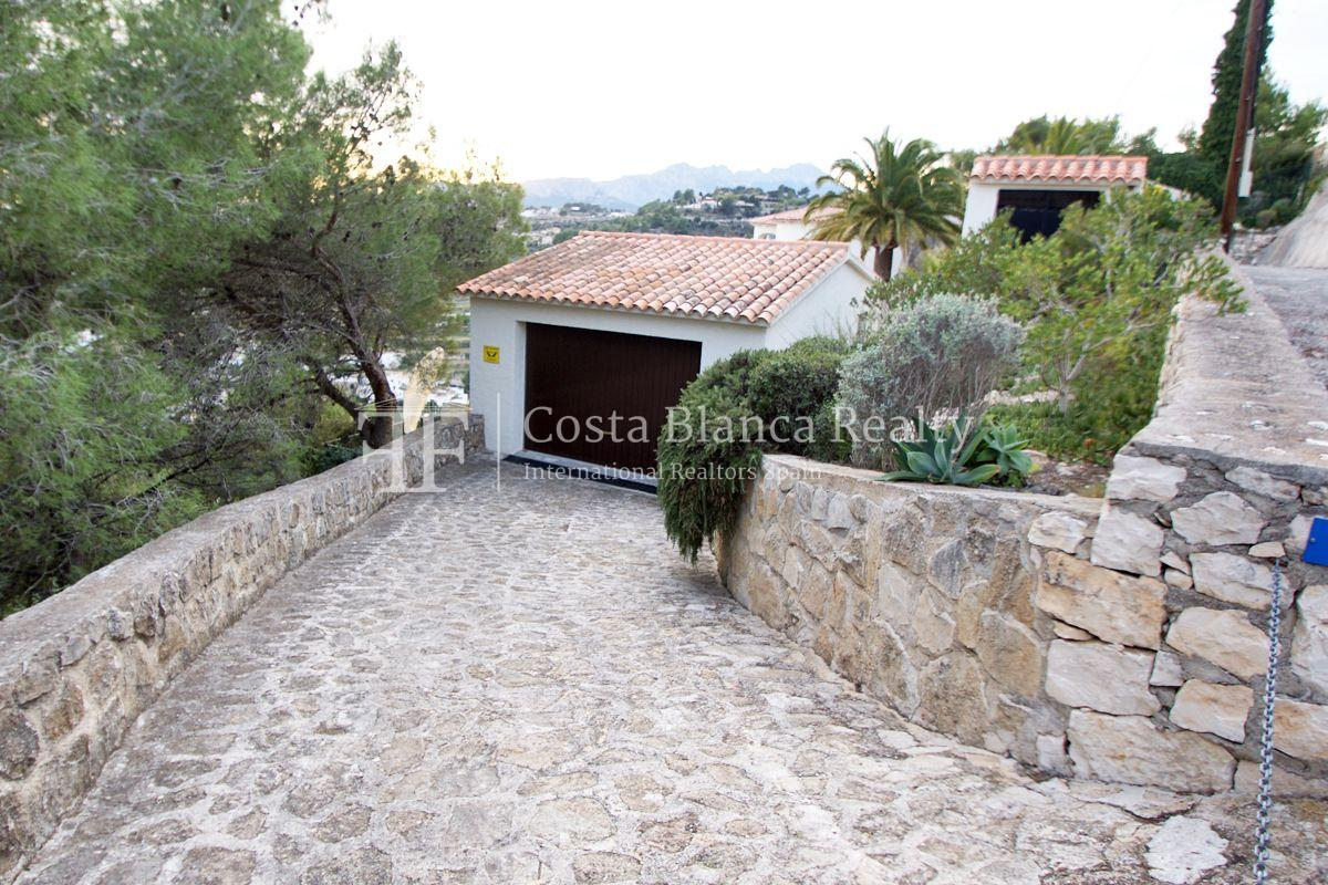 Villa for sale in Benissa with panoramic sea views on a large plot - 42 - CHFi655