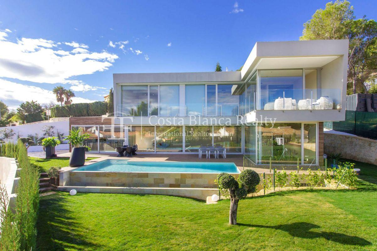 Modern villa in Benissa with sea views for sale, new building - 1 - CHFi788