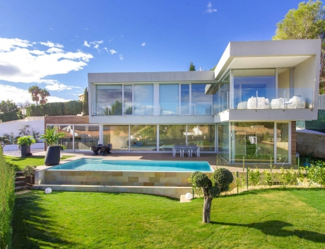 CHFi788: Modern villa in Benissa with sea views for sale, new building - Main