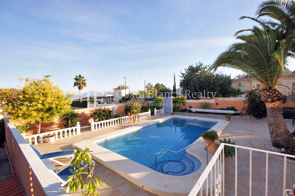 Wonderfully maintained house with sea views in La Nucia - 28 - CHFi763
