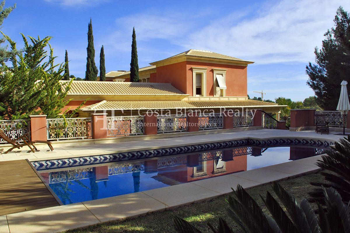 Beautiful villa in Roman style in Altea for sale, Sierra de Altea Golf - 37 - JOFi234