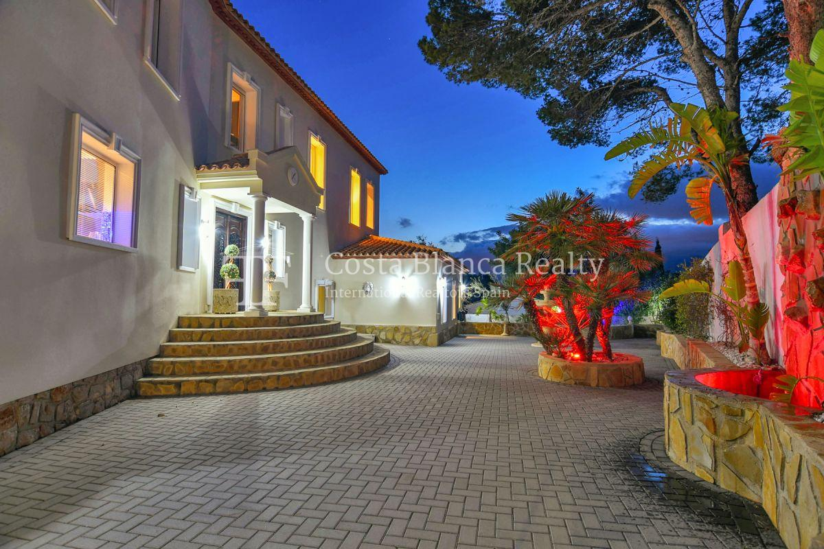 Fantastic villa with panoramic sea views in Altea - 46 - CHFi798