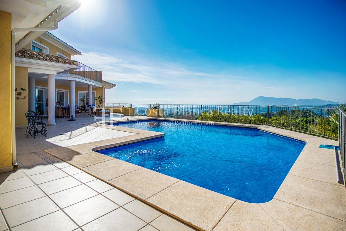 Great villa with panoramic sea views on Altea, Santa Clara - 1 - CHFi785