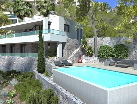 CHFi844: Luxury new build villa in Altea Hills for sale - Main