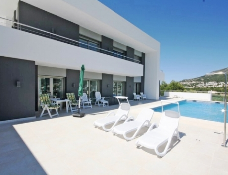CHFi458: Modern Villa built in 2013 with Seaviews in Solpark, Moraira, Spain - Main