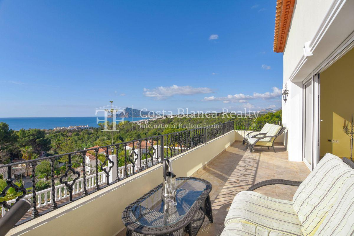 Fantastic villa with panoramic sea views in Altea - 22 - CHFi798