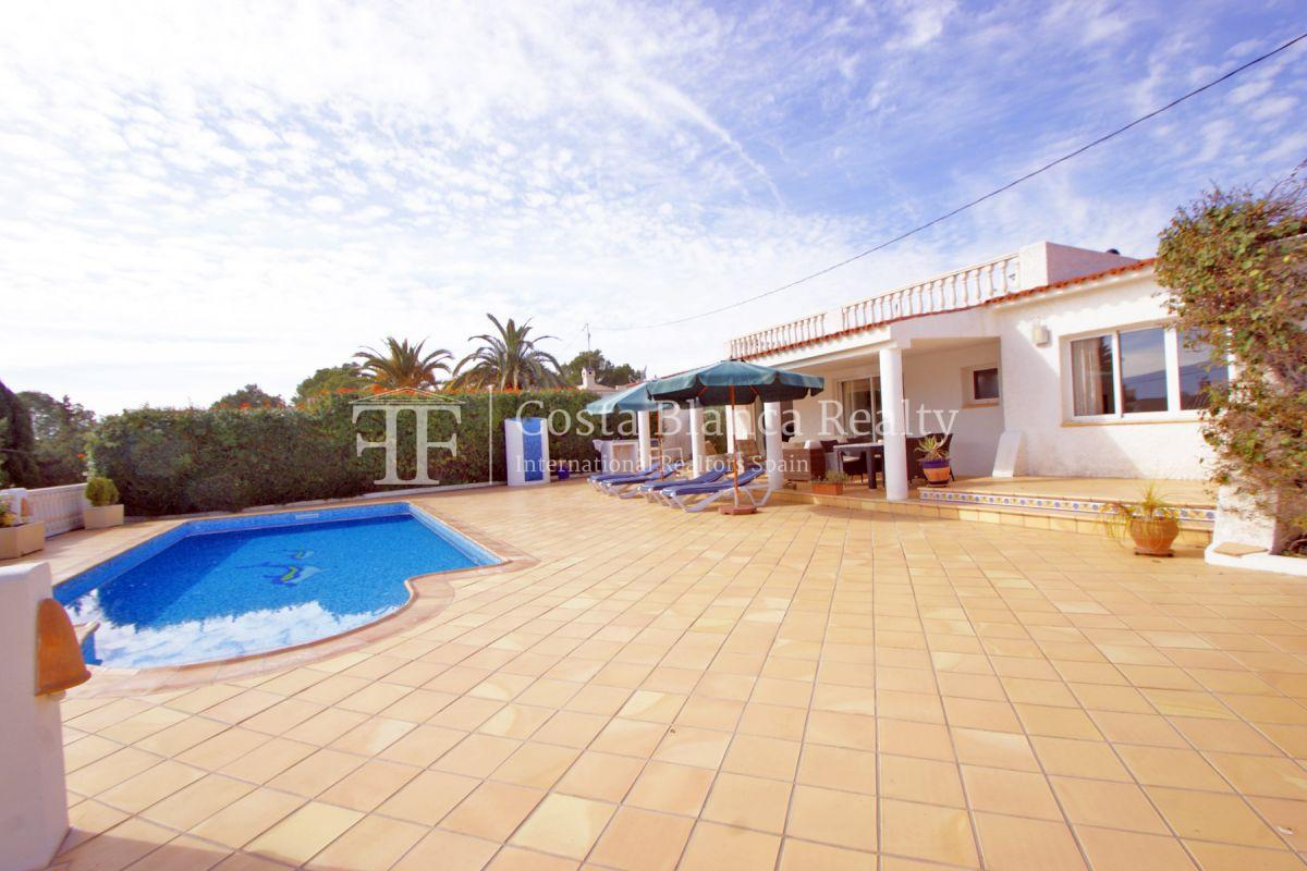 Nice one level House / Villa for sale in Alfaz del Pi at the Costa Blanca, Alicante, Spain with partly sea view and big terraces - 33 - CHFi707